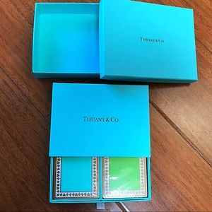 NWT TIFFANY & CO. PLAYING CARDS, sealed in box. 🎁